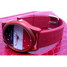 Relógio Feminino Tom Hilfi Strass Brilhosa Lançamento Top