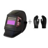 Máscara De Solda Eletrônica Com Regulagem Cr2 - V8 Brasil+lu