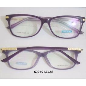 9a98febc9260c Oculo Armacao Feminino De Marca - Óculos Azul violeta no Mercado ...