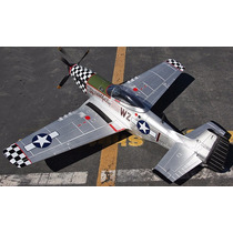 Planta Do Aeromodelo Mustang P-51 Giant Scale - Frete Grátis