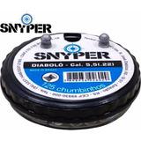 Chumbinho Snyper 5,5mm - 100 Latas Com 125un = 12.500 Mil C