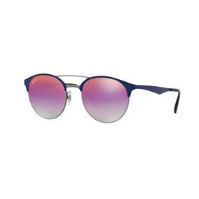a35a18f536 Ray Ban Rb3545 9005a9 Violeta Degradado Azul Original