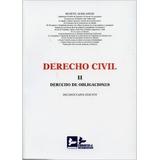 Derecho Civil Ii - Derecho De Obligaciones Manu Envío Gratis
