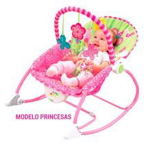 Cadeira Cadeirinha De Descanso Baby Style Princesas
