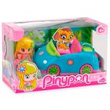 Pinypon Auto Con Figura Y Accesorios Nenas Vehiculo