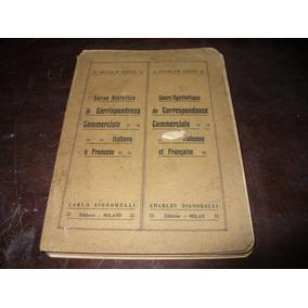 Livro De Bolso Nicola Sisto Correspondência Comercial 1961