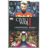 Civil War Ii: Choosing Sides. #1 Al 6. Español (2016-2017)