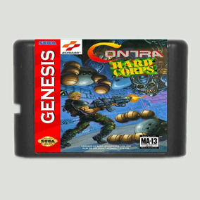 Contra Hard Corps Hardcorps Mega Drive Genesis Tectoy