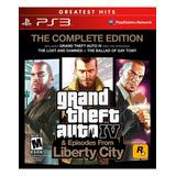Grand Theft Auto Iv Liberty Ps3