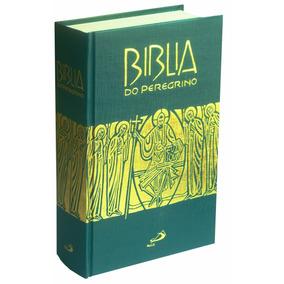 Bíblia Do Peregrino De Estudo Completa Católica Capa Dura