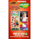 Cartel / Lona Banner Cumpleaños Infantil