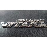 Emblema Palabra Grand Vitara Suzuki 2008 Al 2010