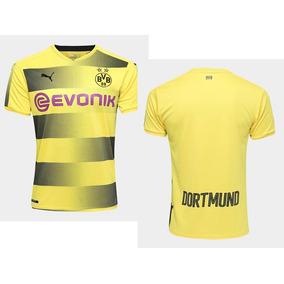 Camisa Borussia Dortmund Original Puma Home 17/18 S/n°