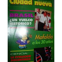 Revista Ciudad Nueva Religion 340 Quino Mafalda Brasil Cienc