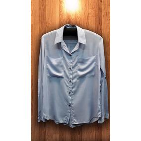 Camisa Lisa Mujer Fibrana Talles 1 Al 6