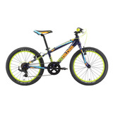 Bicicleta Alubike K20 Boy Rodada 20 Y 7 Velocidades 2018