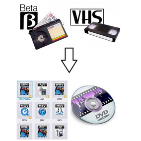 Vhs Y Beta Grabado A Dvd O Archivo Digital