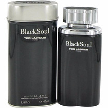 Perfume Black Soul Ted Lapidus Caballero 100ml Original