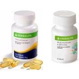 Ômega 3 Herbalife + Multivitaminas E Minerais Pronta Entrega