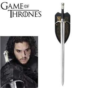 Espada Jon Snow Game Of Thrones Garra Longa Longclaw