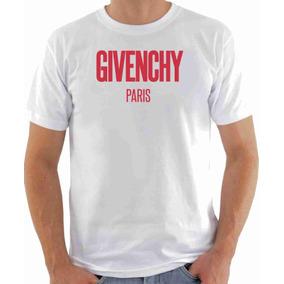 bf9e92026a5 Camisa Camiseta Branca Givennchy Paris