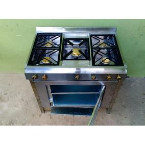 Cocinas Industriales Con Horno 5 Quemadores