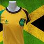 Camisa Retrô Jamaíca Logo