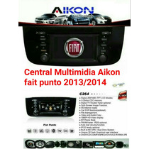 Central Multimídia Fiat Novo Punto 2013/2014/2015