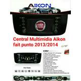 Central Multimídia Fiat Novo Punto 2013/2014/2015