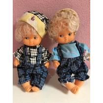 Mini Bonecos Gêmeos Réplicas Chuquinha Antigo Anos 90 No Est