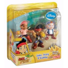 Fisher Price W5260 Jake Neverland Pirates Jake, Izzy & Cubby