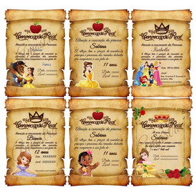 10 Convite Frozen Tam.10x15 - Frete Grátis Acima 50unidades
