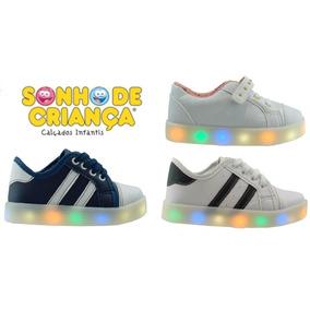 Championes/zapatillas Para Niños, Con Luces Led - Unisex