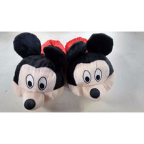 Pantufa Disney Mikey Mouse Infantil Adulto Atacado Presente