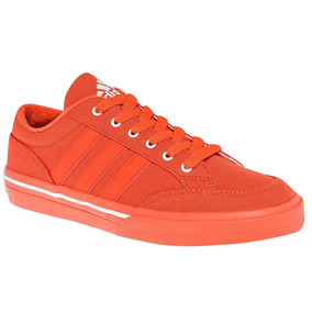 Tenis adidas Canvas Para Dama Naranja Originales 78687