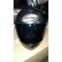 Casco Suomy Booster Negro Mate Polarizado
