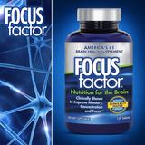 Focus Factor Suplemento Para Memoria 150 Cps Lacrado