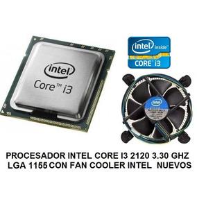 Procesador Intel Core I3-2120 3.30ghz Socket 1155 Fan Cooler