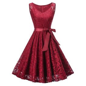 e2c465c48 Vestidos Lineas 2016 - Vestidos de Mujer Rojo en Mercado Libre México