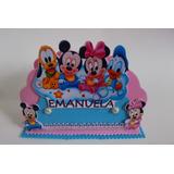 Porta Guardanapo De Eva Turma Disney Baby. Pact.10 Un.