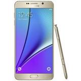 Samsung Galaxy Note 5 Dourado Mt Bom Seminovo C/ Garantia