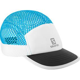 Gorra Unisex Salomon - Air Logo Cap Wh Blanco celeste ec5cda06be1