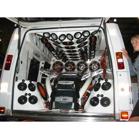 Monto Sistema De Audio De Alta Qualidade