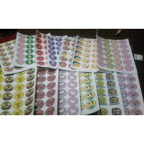 Sticker Para Candy Bar Golosinas Bolsitas Sovenirs