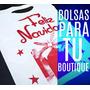 Bolsas Plásticas Boutique Navid 25x32 - (100uni) Incluye Iva