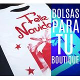 Bolsas Plásticas Boutique Navid 20x27