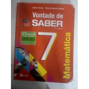 Livro - Vontade De Saber 7 / Do Professor