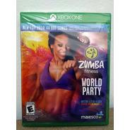 Xbox One Zumba Fitness! Mídia Física! Novo E Lacrado!