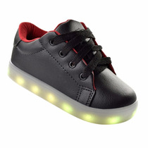 Calçado Infantil Sem Rodinha Luzinha Pisca Tenis Iluminado