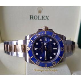 Relógio Eta Mod. Submariner Misto Blue 18k - Noob Best V7